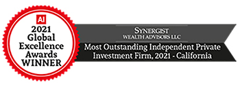 AI 2021 Global Excellence Awards WINNER Most Outstanding Independent Private Investment Firm, 2021 - California